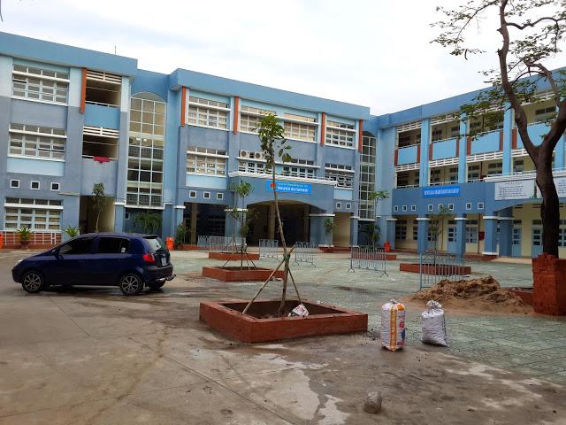 Công trình cây xanh trường học Lê Thị Riêng - Q.10