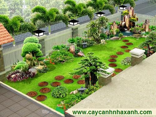 Thiết kế sân vườn