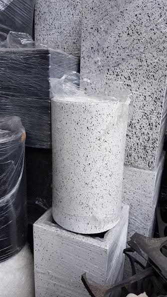 1051 - Chậu Đá mài ống tròn 30 x 50