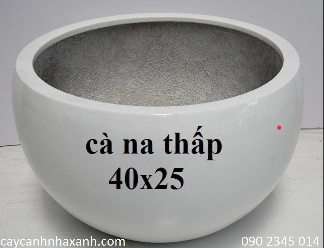 1247 - Chậu composite trứng 40 x 25