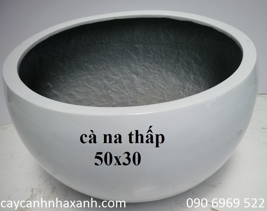 1248 - Chậu composite trứng 50 x 30
