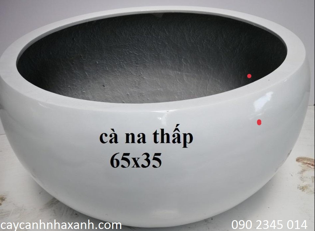 1249 - Chậu composite trứng 65 x 35