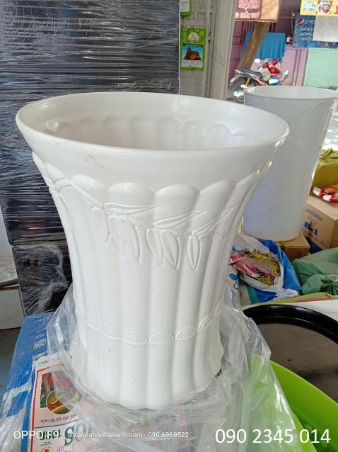 916 - Chậu Nhựa tròn 40 x 48