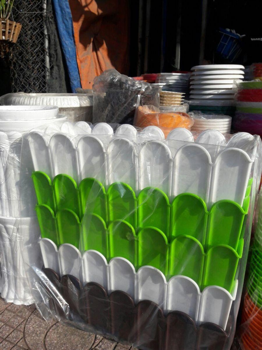 903 - Chậu nhựa hàng rào 60 x 30 x 20