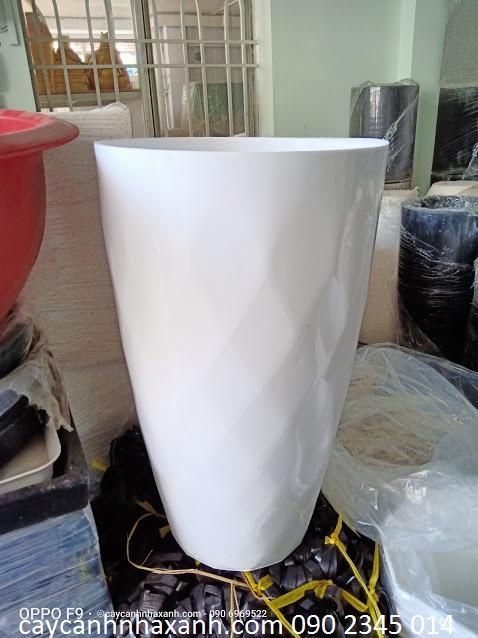 908 - Chậu Nhựa Tròn 35 x 60