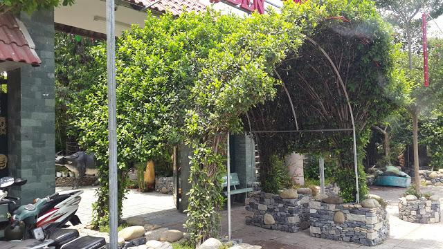 Cổng vòm cây xanh