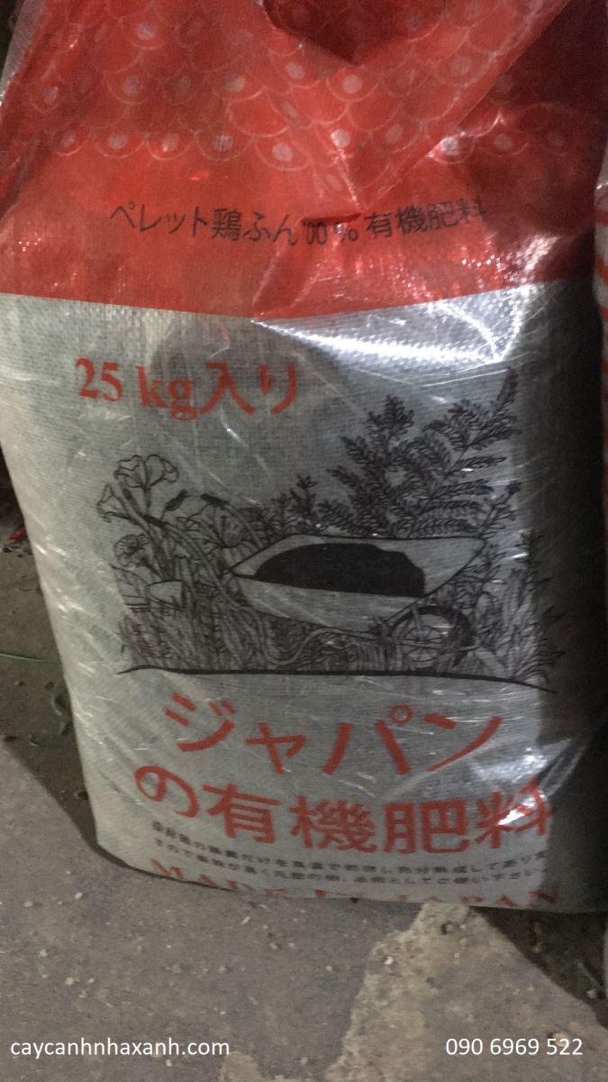 1189 - Phân hữu cơ Nhật Bản - 25kg